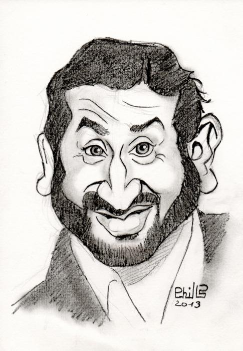 Cyril Hanouna by PhilLP